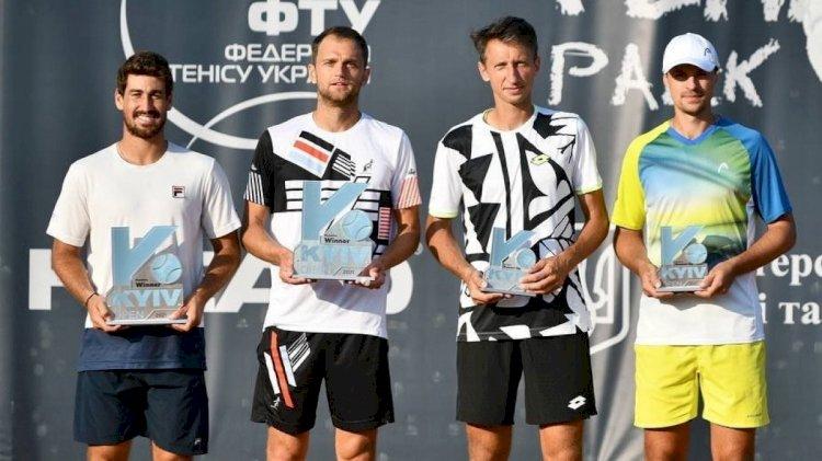 Қазақстандық теннисші Киев турнирінде жұптық сында жеңімпаз атанды