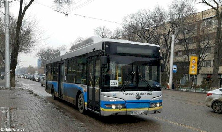 Тағы бір автобус машрутының сызбасы өзгереді