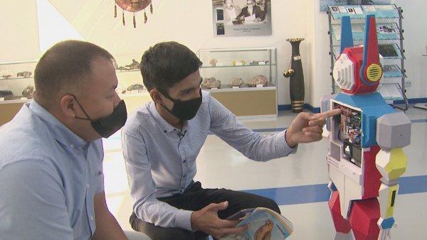 Алматылық студент қазақша сөйлейтін робот жасады