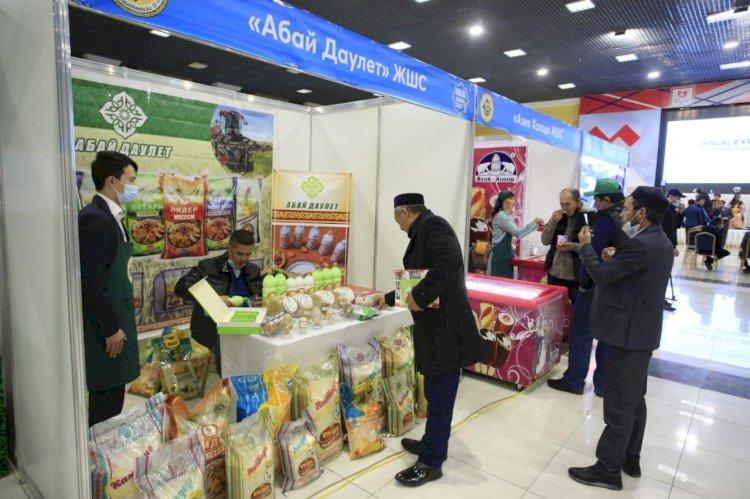 Шымкентте «Halal EXPO 2021» көрмесі өтуде