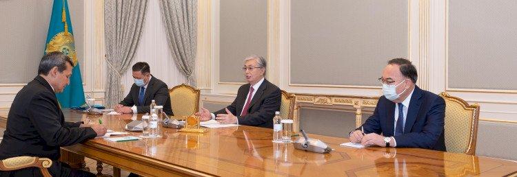 Президент Түрікменстан Министрлер кабинеті төрағасының орынбасарын қабылдады