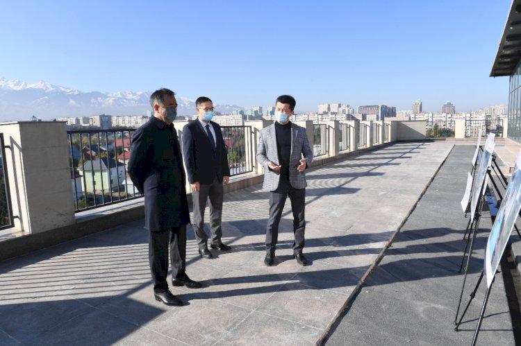 Б. Сағынтаев MOST IT hub Almaty бизнес-инкубаторы мен акселераторының құрылыс барысымен танысты
