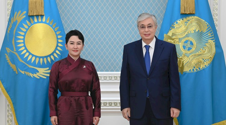 Қасым-Жомарт Тоқаев Моңғолияның Сыртқы қатынастар министрін қабылдады